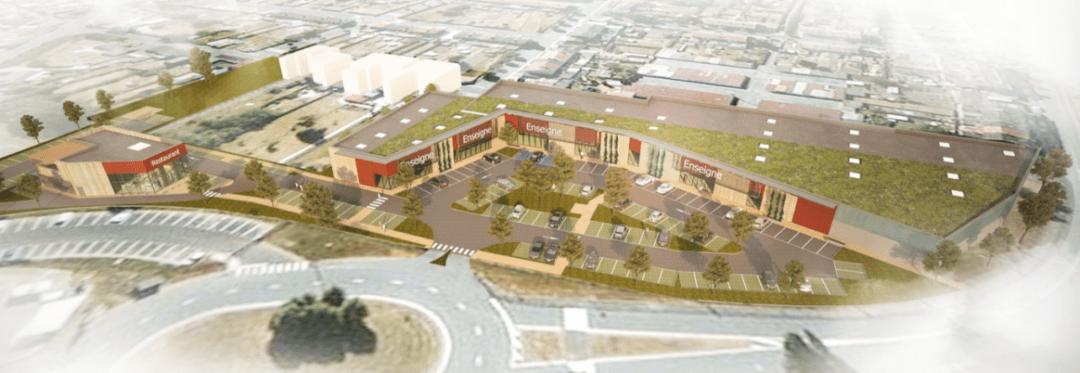 SCCV AULNOY – CONSTRUCTION D'UN ENSEMBLE COMMERCIAL – AULNOY LEZ VALENCIENNES